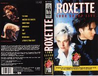 Cover Roxette - Look Sharp Live [DVD]